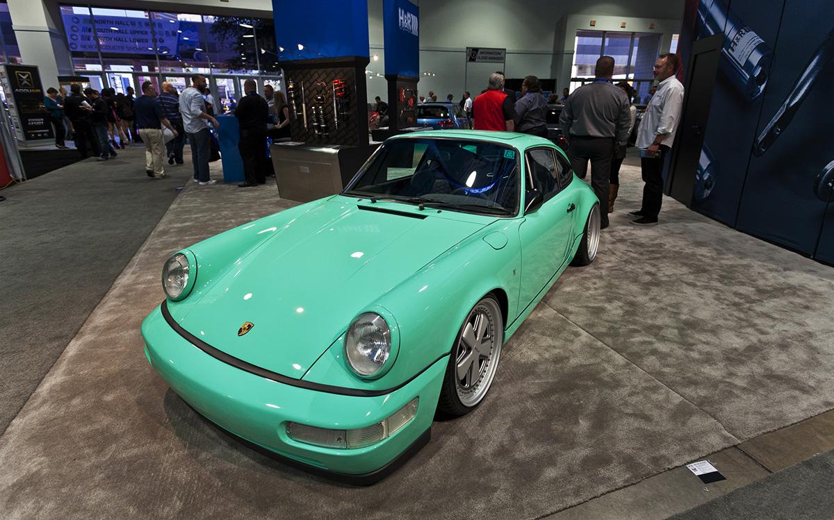 Porsche 911 H&R – Sema 2013