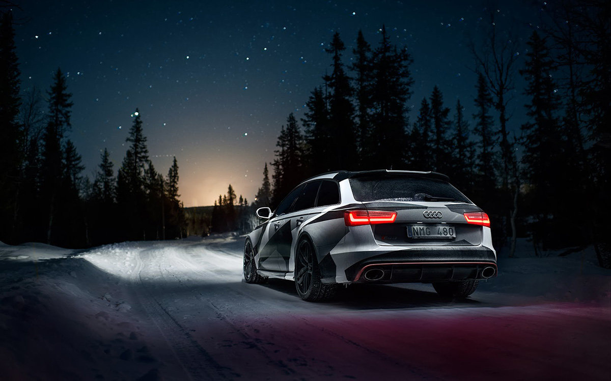 Jon Olsson new 2014 Audi RS6 Avant